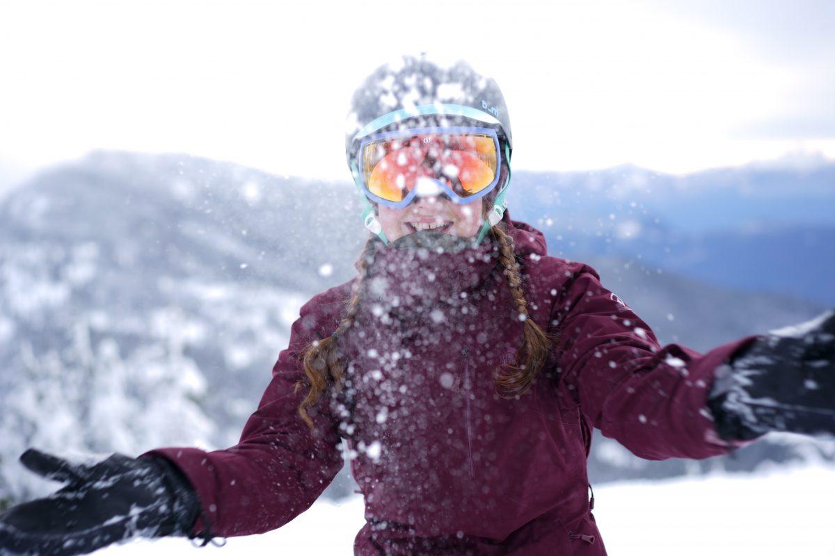 Mia Golebiowska Snow Sasquatch