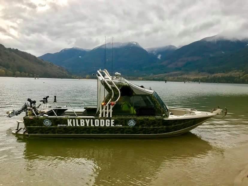 kilby lodge boat