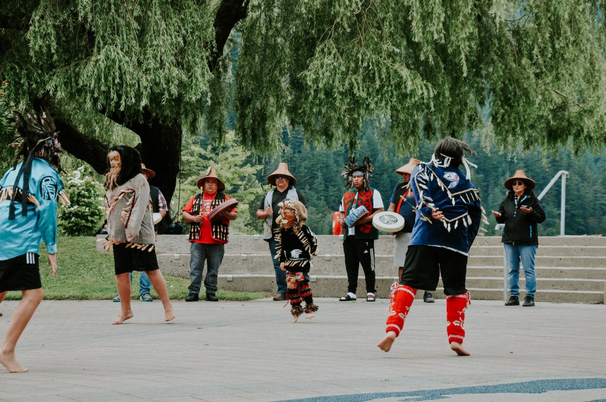 Sasquatch Dancers